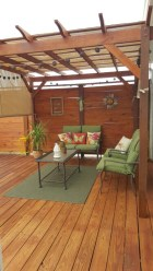 Wonderful Farmhouse Backyard Deck Design Ideas Remodels (50)