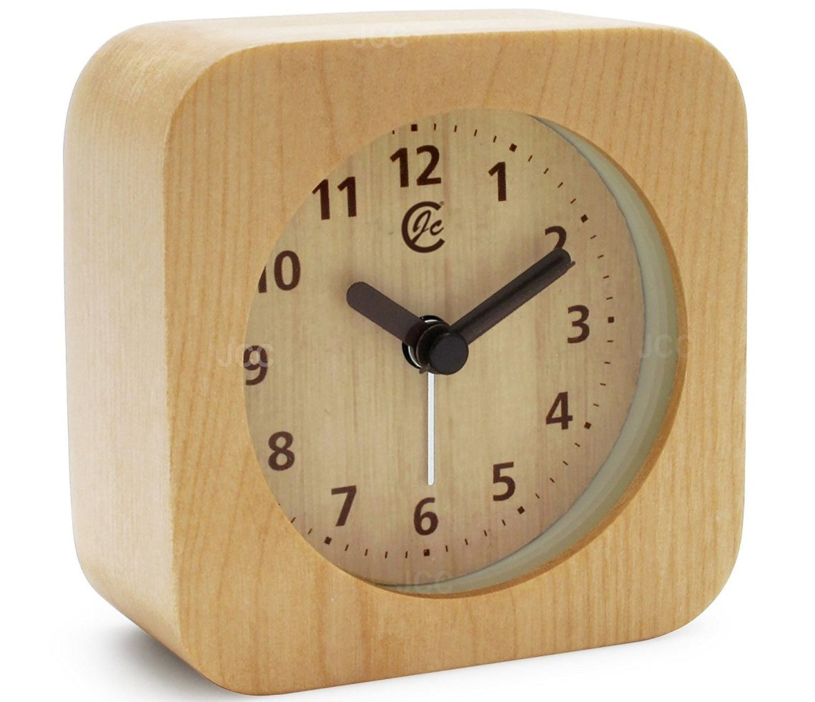 Popular Alarm Bedside - JCC-Arabic-Numerals-Square-Nature-Wood-Non-Ticking-Sweep-Analog-Quartz-Bedside-Desk-Alarm-Clock-with-Ascending-Louder-Alarm-Snooze-and-Night-Light-Feature-Battery-Operated-Light-Wood-e1495082933613  Gallery_861528.jpg