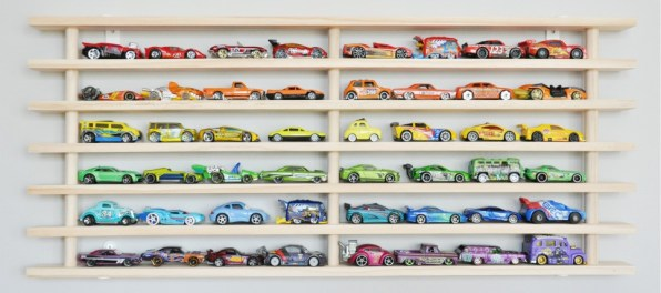 DIY Display Case for Your Toy Cars