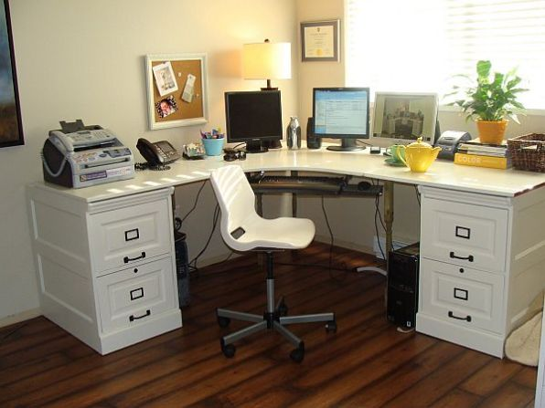 The Desk Transformation (inspired by Pottery Barn)