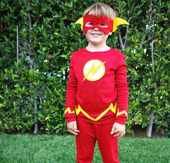 DIY The Flash Kids Costume