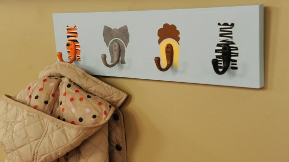 Animal Design Hat Hooks