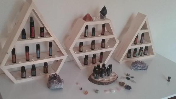 Beautiful Display Cases for Your Essential Oil Collection