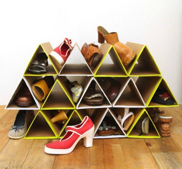 Pyramid Shoe Rack