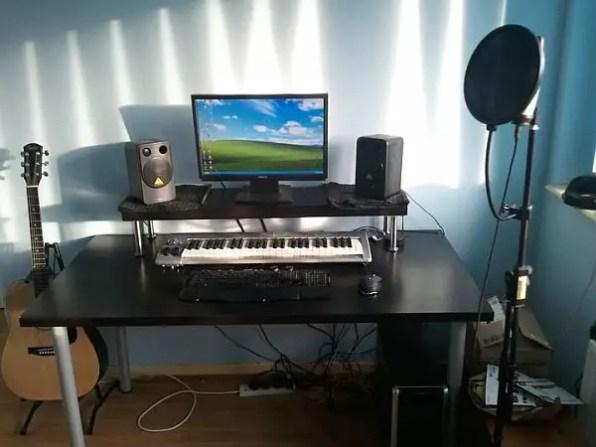 A Home Studio Desk