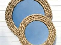 Nautical Rope Mirror for Vanity