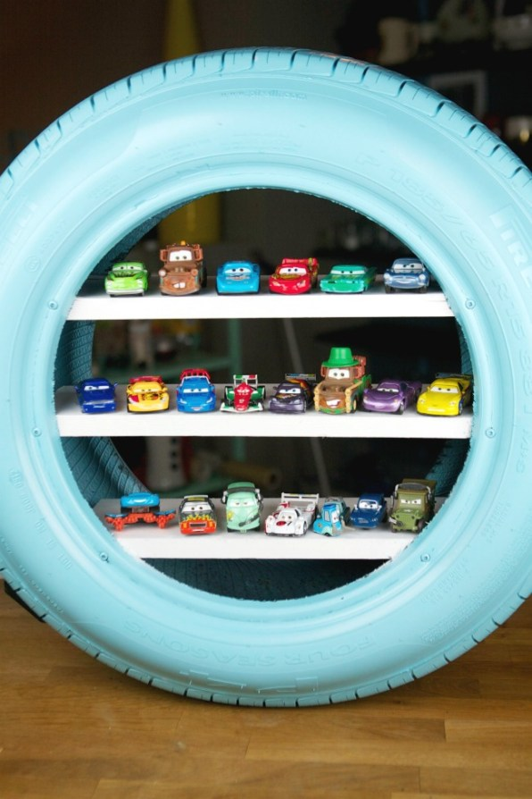 The Thematic, DIY Display Case (Again, for Your Hot Wheels)