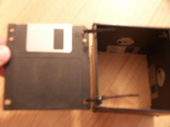 The Old Floppy Disks for a DIY Pencil Case