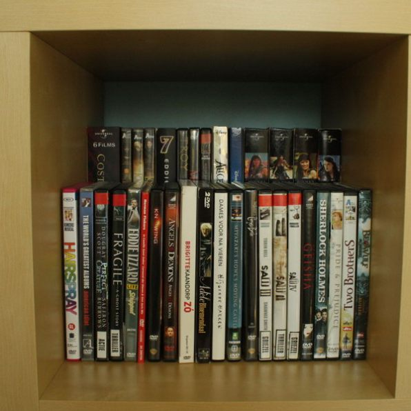 The Simple, DVD Storage Box or Single Shelf (Depending On How You See It)