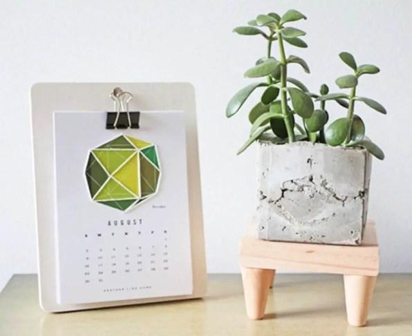 Mini Mid-Century Modern Plant Stand