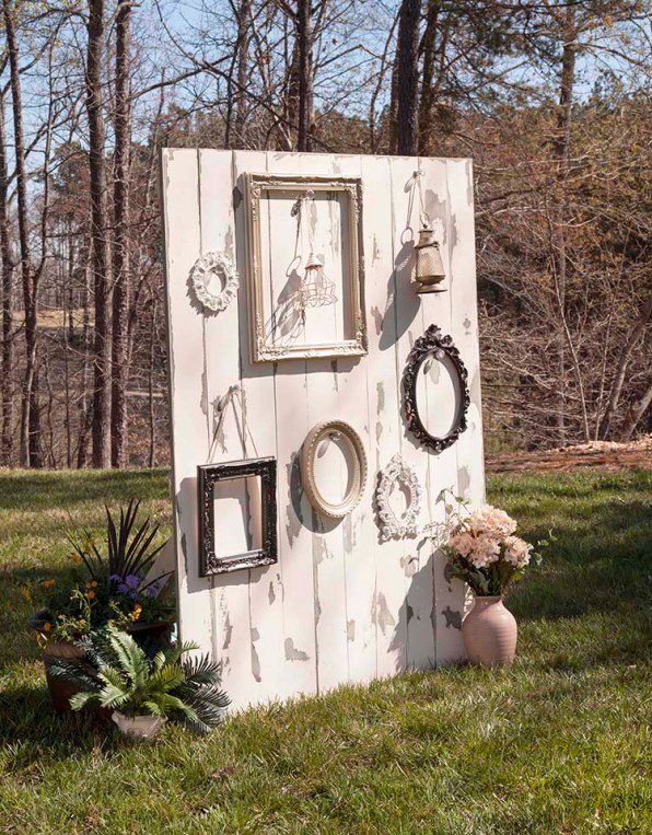 Rustic Style Using Frames