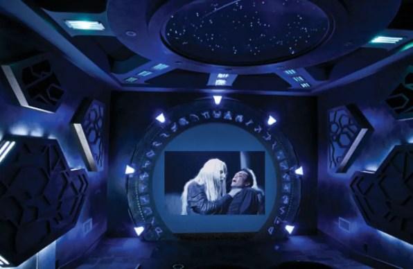 Futuristic Home Theater
