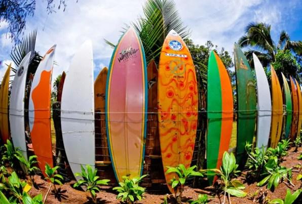 Surfboard Fence Idea