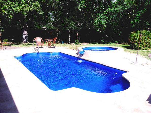 Enclosed Above Ground Pool Deck