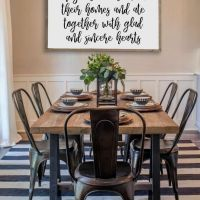 +14 That Will Make You Dining Room Decor Farmhouse Joanna Gaines 1