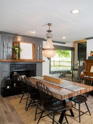 +14 That Will Make You Dining Room Decor Farmhouse Joanna Gaines 56