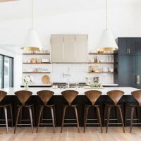 +25 Amazing waterfall island kitchen wood To try right now