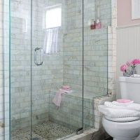 17+ Master Bathroom Shower Ideas Walk In Tile Benches 50