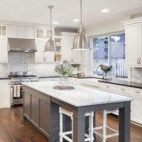 42+Trends you need to know white shaker kitchen cabinets farmhouse subway tile backsplash