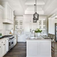 42 Top Modern Farmhouse Kitchens Joanna Gaines Reviews! 34