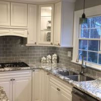47 Getting Smart With Grey Kitchen Cabinets Painted Colors 1
