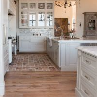 47 + The Number One Article On Brick Floor Kitchen Farmhouse Style 51