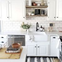 42 Lies You've Been Told About White Subway Tile Backsplash Kitchen Grout Colors Open Shelving