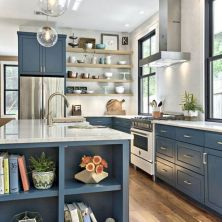 +41 To Consider For Farmhouse Kitchen Cabinets Design Ideas 100