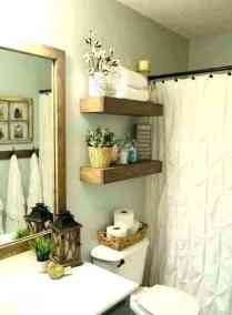 41 + Types Of Guest Bathroom Ideas Half Baths Floating Shelves 11