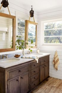 41 + Types Of Guest Bathroom Ideas Half Baths Floating Shelves 26
