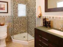 41 + Types Of Guest Bathroom Ideas Half Baths Floating Shelves 74