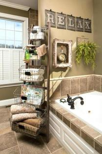 41 + Types Of Guest Bathroom Ideas Half Baths Floating Shelves 80