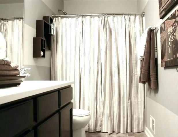 42 Getting Smart With Small Bathroom Decorating Inspiration Shower Curtains