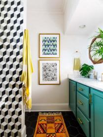 42 Getting Smart With Small Bathroom Ideas Decorating Inspiration Shower Curtains 17