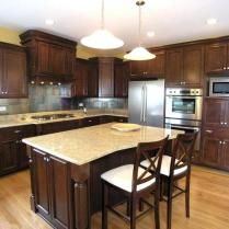 +44 Finding Dark Kitchen Cabinets And Light Granite 29