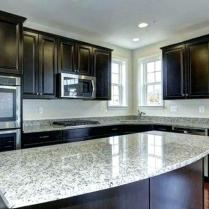 +44 Finding Dark Kitchen Cabinets And Light Granite 36