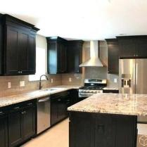 +44 Finding Dark Kitchen Cabinets And Light Granite 99