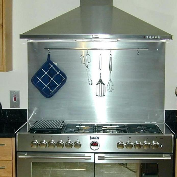 +44 What You Must Know About Tile Behind Stove Kitchen Backsplash Stainless Steel