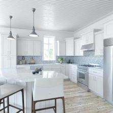 +45 White Shaker Kitchen Cabinets Countertops No Longer A Mystery 16