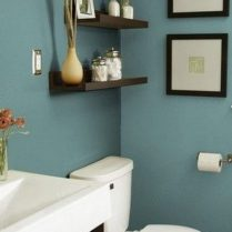 46+That Will Motivate You Farmhouse Bathroom Colors Rustic 93