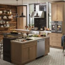 35+ Natural Rustic And Classic Glam Kitchen Decorating Ideas 107