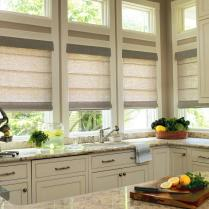 +37 Kitchen Roman Shade In Schumacher Summer Palace Fret In Smoke Is Wrong And Why 9