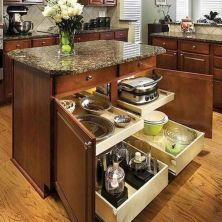 39+ Inspiring Kitchen Cabinet Organization Ideas 37