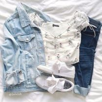 What Everyone Does When It Comes To Fall Outfits For Teen Girls For School Casual Jeans 93