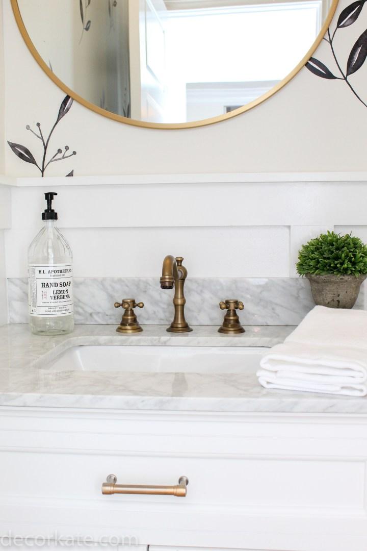 Powder Room Vanity Mirror