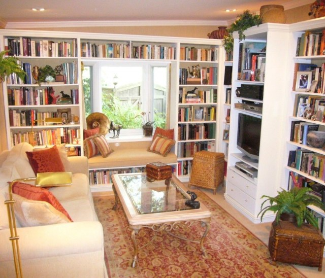 Smart Library Design Ideas For Home To Add To Your List 01