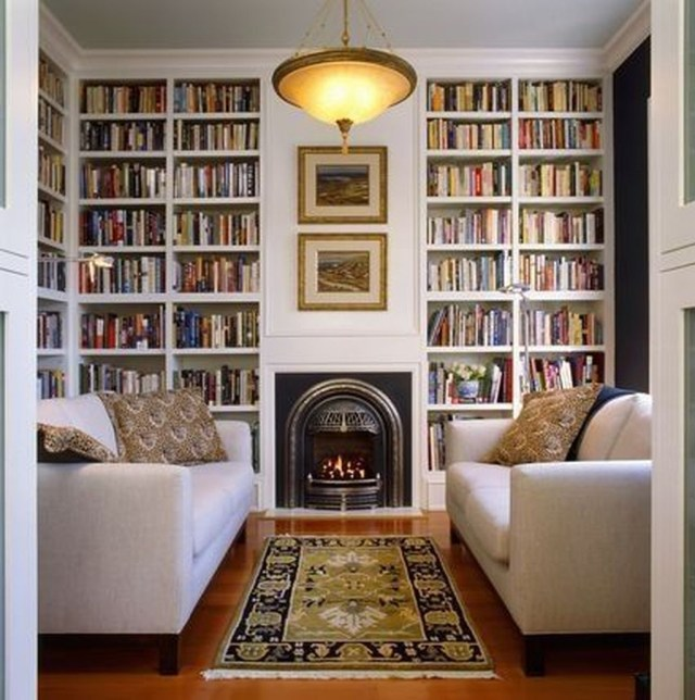 Smart Library Design Ideas For Home To Add To Your List 02