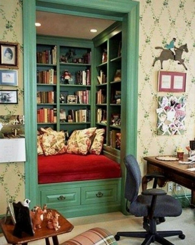 Smart Library Design Ideas For Home To Add To Your List 04