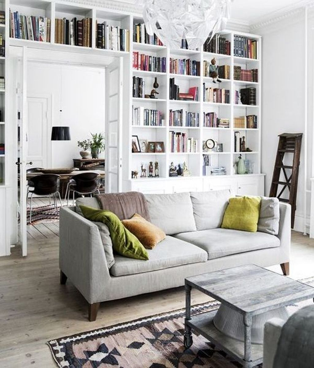 Smart Library Design Ideas For Home To Add To Your List 21