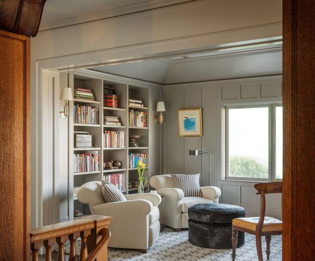 Smart Library Design Ideas For Home To Add To Your List 23
